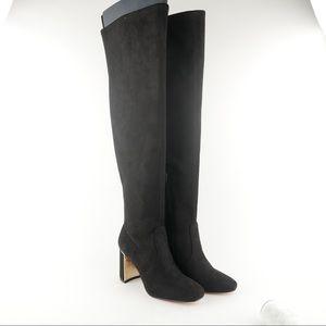 NIB BCBGeneration sz 6.5 Aliana OTK black boots